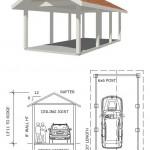Изготовление металлоконструкций: навес для автомобиля